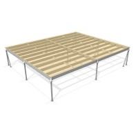 Lagerbühne 8 x 10 : 500 kg/m2