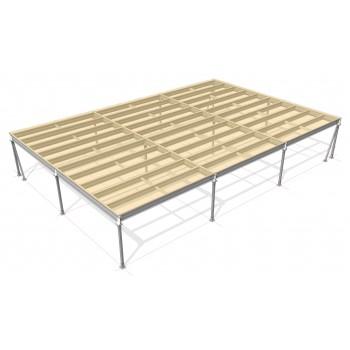 Lagerbühne 12 x 10 : 500 kg/m2