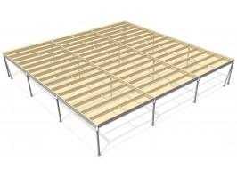 Lagerbühne 12 x 15 : 500 kg/m2
