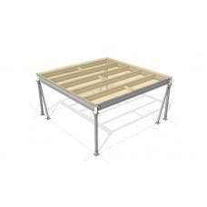 Lagerbühne 4 x 5 : 350 kg/m2