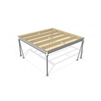 Lagerbühne 4 x 5 : 500 kg/m2